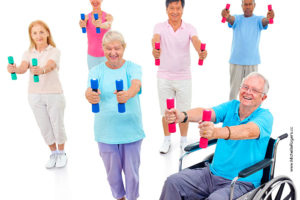 When you work with me, you're also helping seniors stay healthy