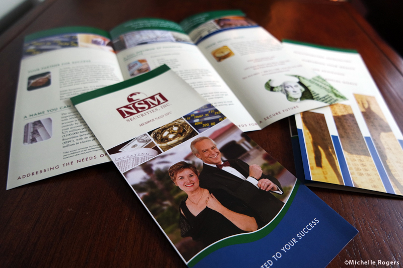 Brochure editing and design by Michelle Rogers